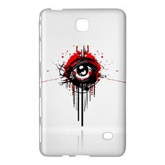 Red White Black Figure  Samsung Galaxy Tab 4 (8 ) Hardshell Case  by amphoto