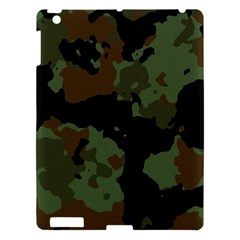 Military Background Texture Surface  Apple Ipad 3/4 Hardshell Case by amphoto