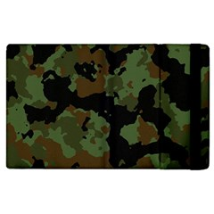 Military Background Texture Surface  Apple Ipad 2 Flip Case by amphoto