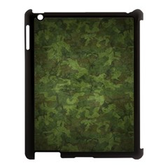 Military Background Spots Texture  Apple Ipad 3/4 Case (black) by amphoto