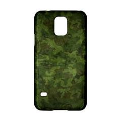 Military Background Spots Texture  Samsung Galaxy S5 Hardshell Case  by amphoto