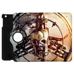 Mad Max Mad Max Fury Road Skull Mask  Apple Ipad Mini Flip 360 Case by amphoto