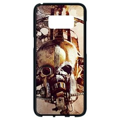 Mad Max Mad Max Fury Road Skull Mask  Samsung Galaxy S8 Black Seamless Case by amphoto