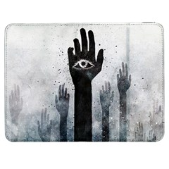 Hand Eye Vector  Samsung Galaxy Tab 7  P1000 Flip Case by amphoto