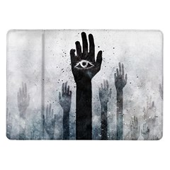 Hand Eye Vector  Samsung Galaxy Tab 10 1  P7500 Flip Case by amphoto