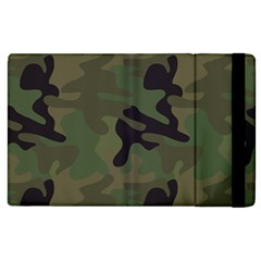 Military Spots Texture Background  Apple Ipad 3/4 Flip Case by amphoto