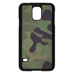 Military Spots Texture Background  Samsung Galaxy S5 Case (black) by amphoto