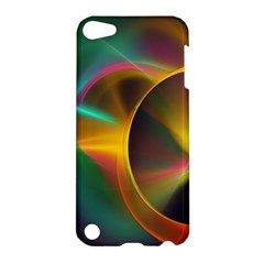 Light Color Line Smoke Apple Ipod Touch 5 Hardshell Case by amphoto