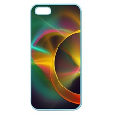 Light Color Line Smoke Apple Seamless Iphone 5 Case (color) by amphoto
