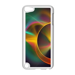 Light Color Line Smoke Apple Ipod Touch 5 Case (white) by amphoto