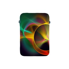 Light Color Line Smoke Apple Ipad Mini Protective Soft Cases by amphoto