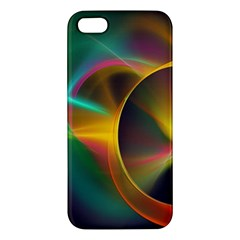 Light Color Line Smoke Iphone 5s/ Se Premium Hardshell Case by amphoto