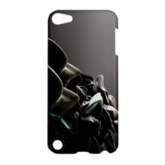 Black White Figure Form  Apple Ipod Touch 5 Hardshell Case by amphoto