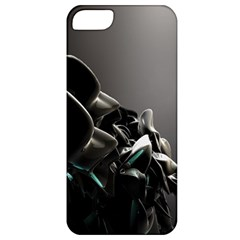 Black White Figure Form  Apple Iphone 5 Classic Hardshell Case by amphoto
