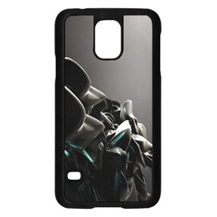 Black White Figure Form  Samsung Galaxy S5 Case (black) by amphoto