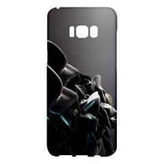 Black White Figure Form  Samsung Galaxy S8 Plus Hardshell Case  by amphoto