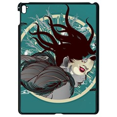 Angel Wings Paint  Apple Ipad Pro 9 7   Black Seamless Case by amphoto
