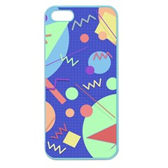 Memphis #42 Apple Seamless Iphone 5 Case (color) by RockettGraphics