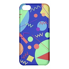 Memphis #42 Apple Iphone 5c Hardshell Case by RockettGraphics