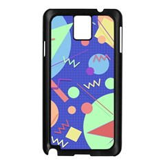 Memphis #42 Samsung Galaxy Note 3 N9005 Case (black) by RockettGraphics