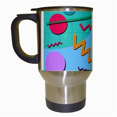 Memphis #10 Travel Mugs (white) by RockettGraphics
