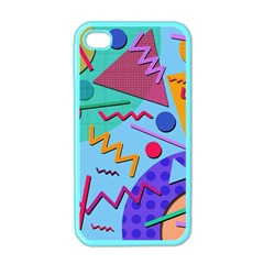 Memphis #10 Apple Iphone 4 Case (color) by RockettGraphics