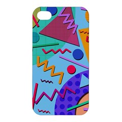 Memphis #10 Apple Iphone 4/4s Premium Hardshell Case by RockettGraphics