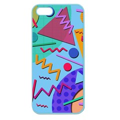Memphis #10 Apple Seamless Iphone 5 Case (color)