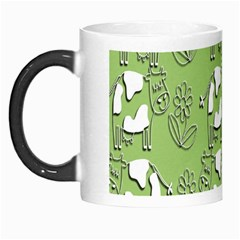Cow Flower Pattern Wallpaper Morph Mugs