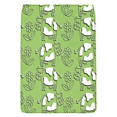 Cow Flower Pattern Wallpaper Flap Covers (s)  by Nexatart