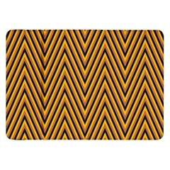 Chevron Brown Retro Vintage Samsung Galaxy Tab 8 9  P7300 Flip Case by Nexatart