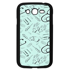 Pattern Medicine Seamless Medical Samsung Galaxy Grand Duos I9082 Case (black)
