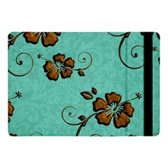 Chocolate Background Floral Pattern Apple Ipad Pro 10 5   Flip Case by Nexatart