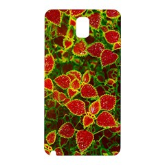Flower Red Nature Garden Natural Samsung Galaxy Note 3 N9005 Hardshell Back Case
