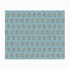 Texture Background Beige Grey Blue Small Glasses Cloth