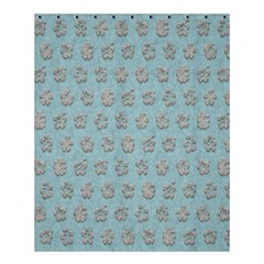 Texture Background Beige Grey Blue Shower Curtain 60  X 72  (medium)  by Nexatart
