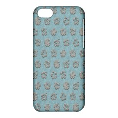 Texture Background Beige Grey Blue Apple Iphone 5c Hardshell Case by Nexatart
