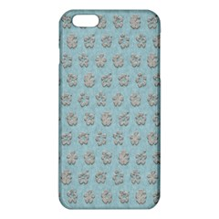 Texture Background Beige Grey Blue Iphone 6 Plus/6s Plus Tpu Case by Nexatart