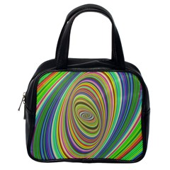 Ellipse Background Elliptical Classic Handbags (one Side) by Nexatart
