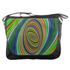 Ellipse Background Elliptical Messenger Bags