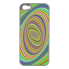 Ellipse Background Elliptical Apple Iphone 5 Case (silver)