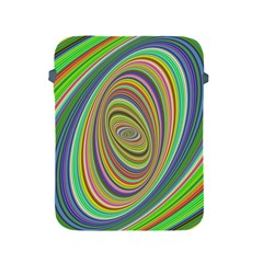 Ellipse Background Elliptical Apple Ipad 2/3/4 Protective Soft Cases by Nexatart