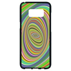 Ellipse Background Elliptical Samsung Galaxy S8 Black Seamless Case