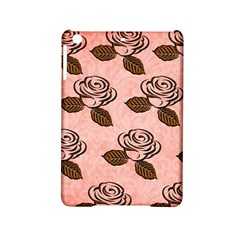 Chocolate Background Floral Pattern Ipad Mini 2 Hardshell Cases by Nexatart