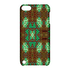 Art Design Template Decoration Apple Ipod Touch 5 Hardshell Case With Stand