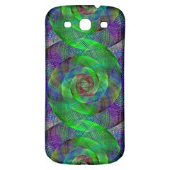 Fractal Spiral Swirl Pattern Samsung Galaxy S3 S Iii Classic Hardshell Back Case by Nexatart