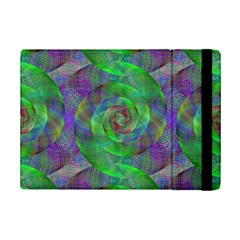 Fractal Spiral Swirl Pattern Ipad Mini 2 Flip Cases