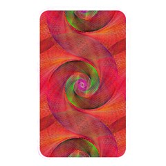 Red Spiral Swirl Pattern Seamless Memory Card Reader