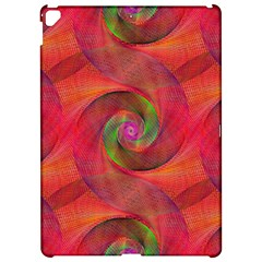 Red Spiral Swirl Pattern Seamless Apple Ipad Pro 12 9   Hardshell Case by Nexatart