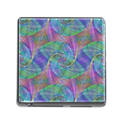 Spiral Pattern Swirl Pattern Memory Card Reader (square) by Nexatart